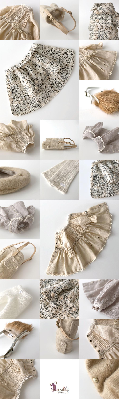 *lucalily * dolls clothes* Flower pattern coat set *_d0217189_10282422.jpg