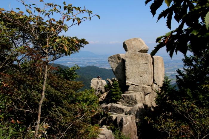 鈴鹿山系のすばらしい!!奇岩No.2_e0149891_09385427.jpg