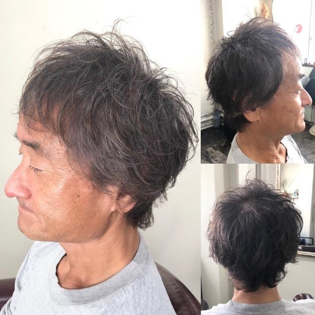 白髪を生かした白髪染め _b0088100_23150909.jpeg
