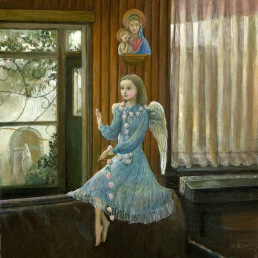 小さな幸せ🕯小さな祈り くるはらきみ 絵画世界_c0203401_18554189.jpeg