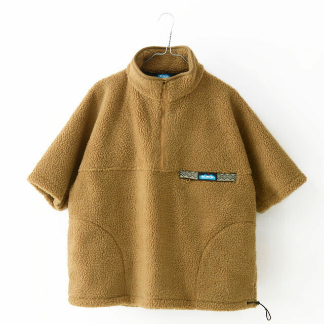 KAVU [カブー] Boa Throw Shirts [19821134] ボアスローシャツ・フリース・フリースプルオーバー・半袖フリース・MEN\'S _f0051306_16385555.jpg
