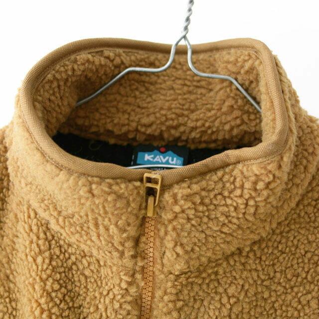 KAVU [カブー] Boa Throw Shirts [19821134] ボアスローシャツ・フリース・フリースプルオーバー・半袖フリース・MEN\'S _f0051306_16385619.jpg