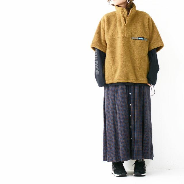 KAVU [カブー] Boa Throw Shirts [19821134] ボアスローシャツ・フリース・フリースプルオーバー・半袖フリース・MEN\'S _f0051306_16385676.jpg