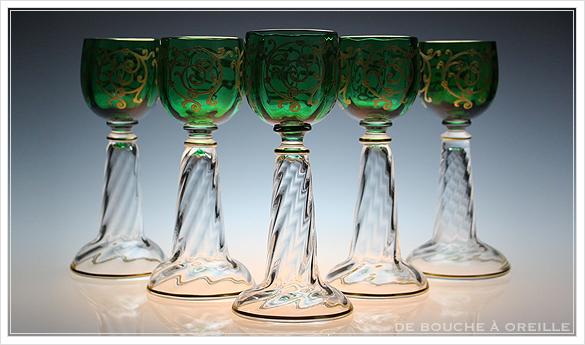 """サン・ルイ クリュニー Saint Louis \""""Cluny\"""" その3 オールド バカラ グラス フランス アンティーク_d0184921_15313788.jpg"""