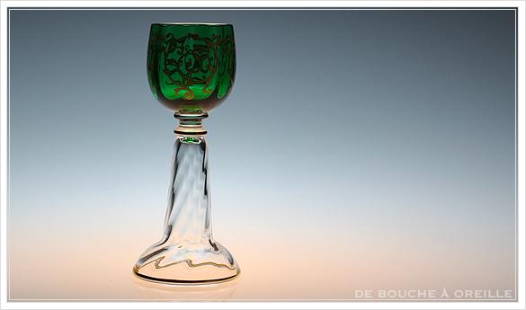 """サン・ルイ クリュニー Saint Louis \""""Cluny\"""" その3 オールド バカラ グラス フランス アンティーク_d0184921_15462448.jpg"""