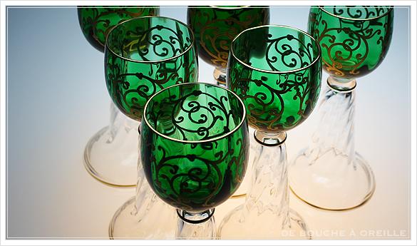 """サン・ルイ クリュニー Saint Louis \""""Cluny\"""" その3 オールド バカラ グラス フランス アンティーク_d0184921_16042502.jpg"""