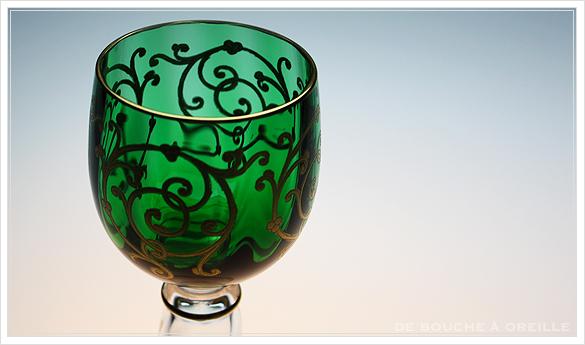 """サン・ルイ クリュニー Saint Louis \""""Cluny\"""" その3 オールド バカラ グラス フランス アンティーク_d0184921_16201360.jpg"""