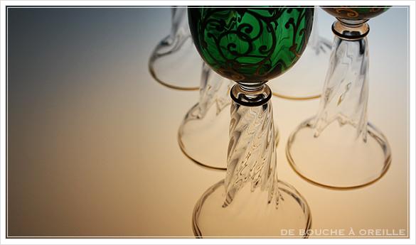 """サン・ルイ クリュニー Saint Louis \""""Cluny\"""" その3 オールド バカラ グラス フランス アンティーク_d0184921_16293467.jpg"""