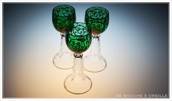 """サン・ルイ クリュニー Saint Louis \""""Cluny\"""" その3 オールド バカラ グラス フランス アンティーク_d0184921_16334241.jpg"""