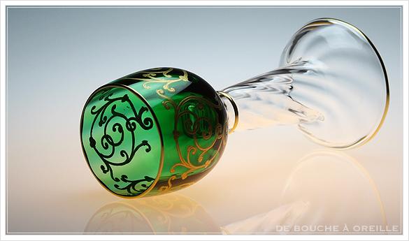 """サン・ルイ クリュニー Saint Louis \""""Cluny\"""" その3 オールド バカラ グラス フランス アンティーク_d0184921_16491755.jpg"""