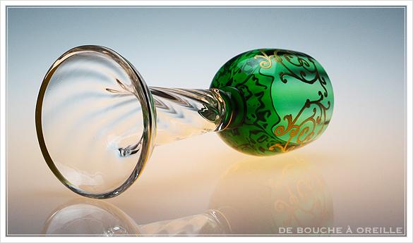 """サン・ルイ クリュニー Saint Louis \""""Cluny\"""" その3 オールド バカラ グラス フランス アンティーク_d0184921_16492858.jpg"""