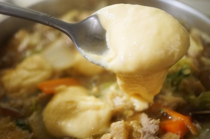 ■晩ご飯【具沢山すいとん】肌寒くなったので身体を温めるに最適です♪_b0033423_18505003.jpg