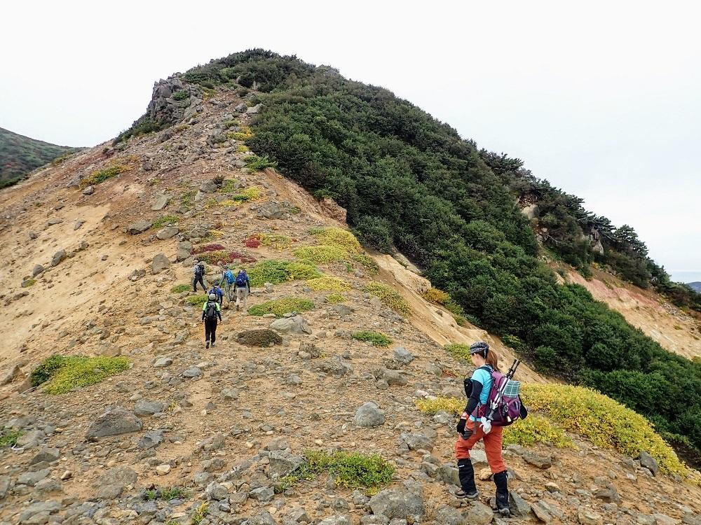 一切経山(シモフリ新道) ~ 2020年10月4日_f0170180_13134270.jpg