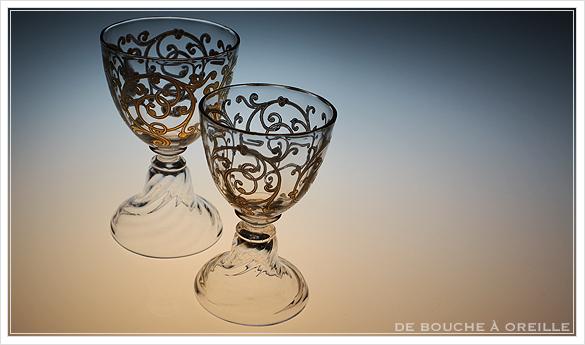 """サン・ルイ クリュニー Saint Louis \""""Cluny\"""" その4 オールド バカラ グラス フランス アンティーク_d0184921_12002411.jpg"""