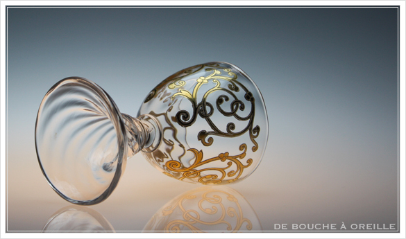 """サン・ルイ クリュニー Saint Louis \""""Cluny\"""" その4 オールド バカラ グラス フランス アンティーク_d0184921_12162054.jpg"""