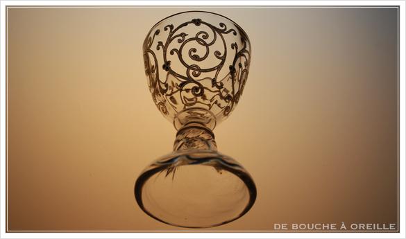 """サン・ルイ クリュニー Saint Louis \""""Cluny\"""" その4 オールド バカラ グラス フランス アンティーク_d0184921_12251293.jpg"""