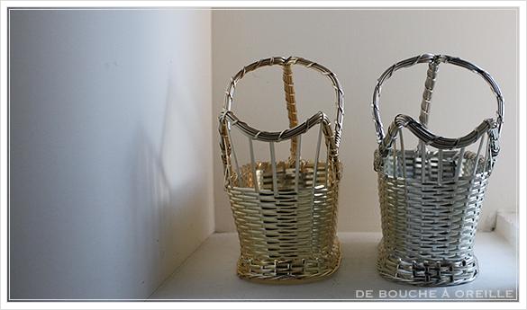 クリストフル製 アンティークのパニエ ボトルバスケット Christofle porte bouteille その3_d0184921_14434104.jpg