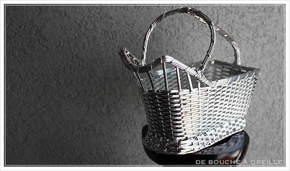 クリストフル製 アンティークのパニエ ボトルバスケット Christofle porte bouteille その3_d0184921_15094171.jpg