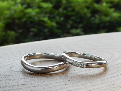 ふたりだけの結婚指輪 オーダーメイド   岡山_d0237570_15014980.jpg