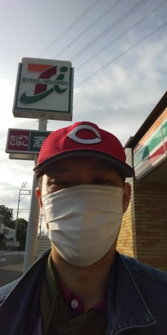 本日もアベノマスクよりコンビニのマスクで介護現場に出勤です!_e0094315_08202990.jpg