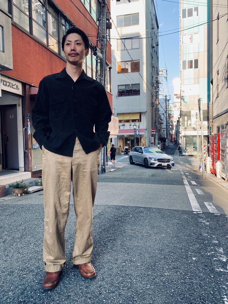 マグネッツ神戸店 10/14(水)Vintage入荷! #2 Vintage Cotton Shrit!!!_c0078587_17220219.jpg