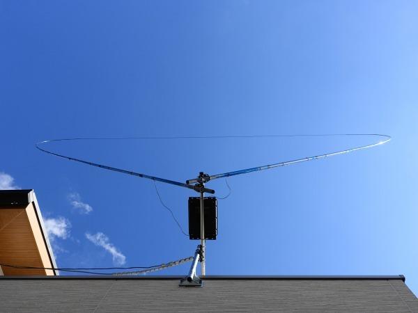 自宅にHF用のアンテナ上げました。_f0073587_14040470.jpg