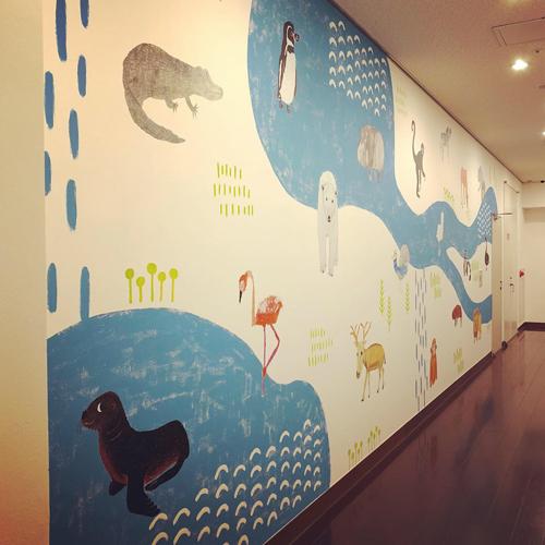 熊本市現代美術館の開館記念日 & 壁画完成_e0338479_19111801.jpg