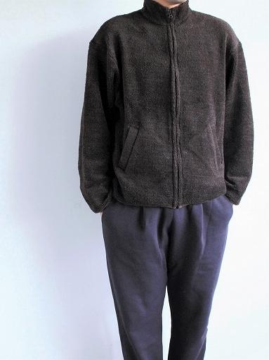 blurhms Wool Boa Zip Jacket_b0139281_14461347.jpg