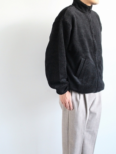 blurhms Wool Boa Zip Jacket_b0139281_14461371.jpg