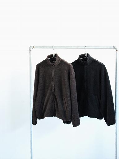 blurhms Wool Boa Zip Jacket_b0139281_14461394.jpg