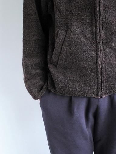 blurhms Wool Boa Zip Jacket_b0139281_14470732.jpg