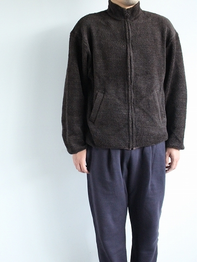 blurhms Wool Boa Zip Jacket_b0139281_14470801.jpg