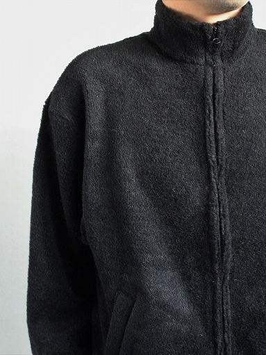 blurhms Wool Boa Zip Jacket_b0139281_14470849.jpg