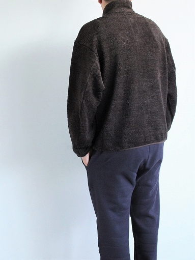 blurhms Wool Boa Zip Jacket_b0139281_14470861.jpg