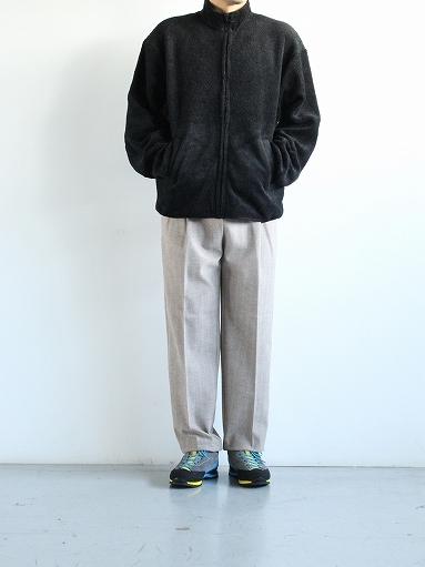 blurhms Wool Boa Zip Jacket_b0139281_14470997.jpg