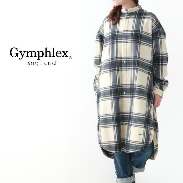 Gymphlex [ジムフレックス] FLEECE CHECK THERMAL INSULATION NO COLLAR SHIRTS [J-1449 LIS] チェックシャツ・LADY\'S _f0051306_12461714.jpg