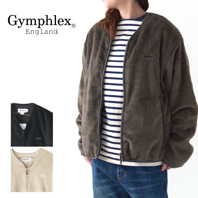 Gymphlex [ジムフレックス]W HIGH PILE FLEECE(with LINING) [J-1447PL] ポリエステル・フリースジャケット・LADY\'S _f0051306_12532544.jpg