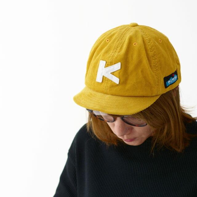 KAVU [カブー] CORD BASEBALL CAP [19820936] コードベースボールキャップ・コーデュロイキャップ・MEN\'S/LADY\'S _f0051306_13592921.jpg