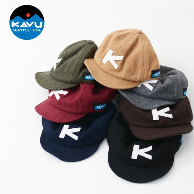 KAVU [カブー] WOOL BASEBALL CAP [19820318] ウールベースボールキャップ・ウールキャップ・MEN\'S/LADY\'S _f0051306_14123896.jpg