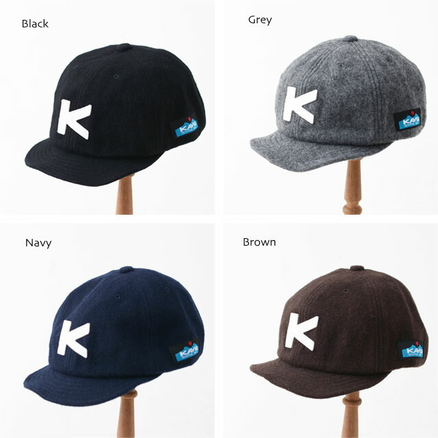 KAVU [カブー] WOOL BASEBALL CAP [19820318] ウールベースボールキャップ・ウールキャップ・MEN\'S/LADY\'S _f0051306_14123989.jpg