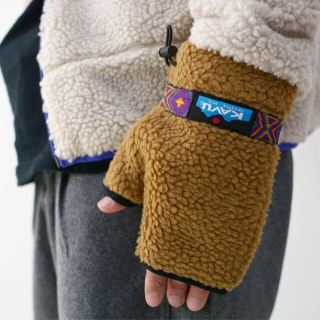 KAVU [カブー] Boa Glove [19821111] ボアグローブ・手袋・フリースグローブ・プレゼント・MEN\'S/LADY\'S _f0051306_14202234.jpg