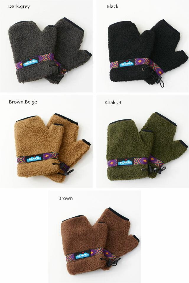 KAVU [カブー] Boa Glove [19821111] ボアグローブ・手袋・フリースグローブ・プレゼント・MEN\'S/LADY\'S _f0051306_14202277.jpg