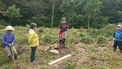 山の森 海の森 二ツ森づくり 「会員植樹」を開催しました。_a0134158_10532484.jpg