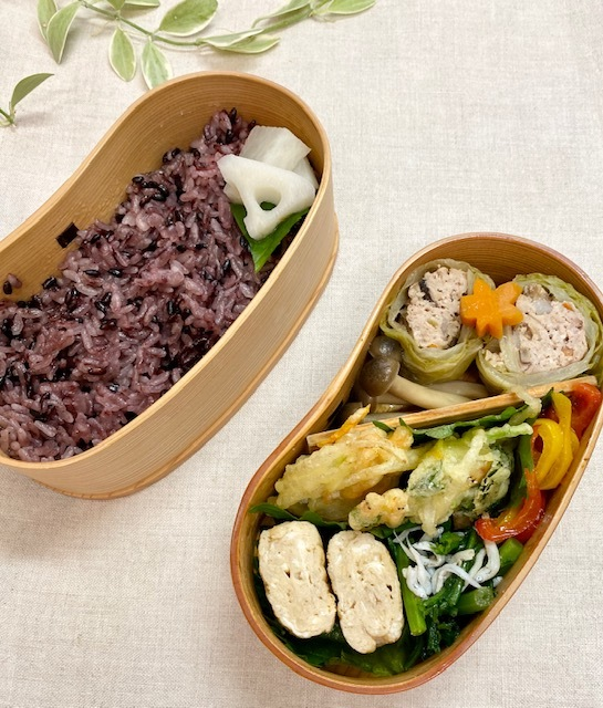lunch box ×3 煮物が美味しい季節♪_a0165160_22083267.jpg