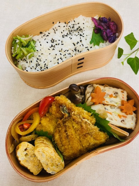 lunch box ×3 煮物が美味しい季節♪_a0165160_22085007.jpg