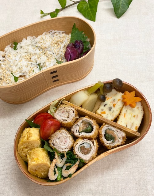 lunch box ×3 煮物が美味しい季節♪_a0165160_22090500.jpg