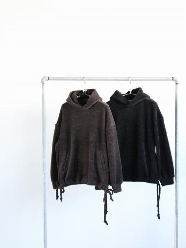 blurhms Wool Boa P/O Hoodie_b0139281_15121262.jpg