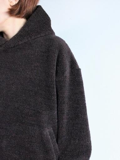 blurhms Wool Boa P/O Hoodie_b0139281_15121328.jpg