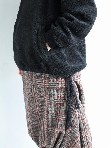 blurhms Wool Boa P/O Hoodie_b0139281_15121342.jpg