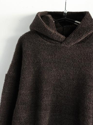 blurhms Wool Boa P/O Hoodie_b0139281_15121357.jpg